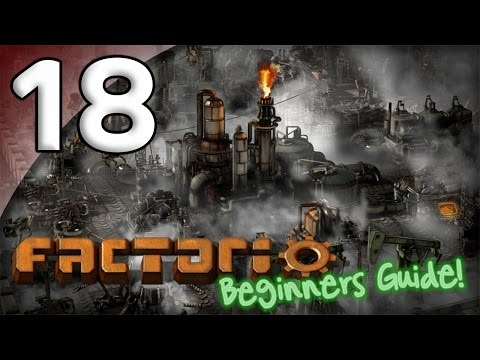 Factorio Beginner's Guide - 18. Oil Shortage - Let's Play Factorio Gameplay