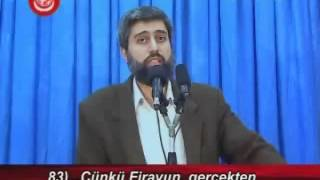 Yunus Suresi Tefsiri | Ayet 82-89 | Alparslan KUYTUL Hocaefendi | 16 Kasım 2007