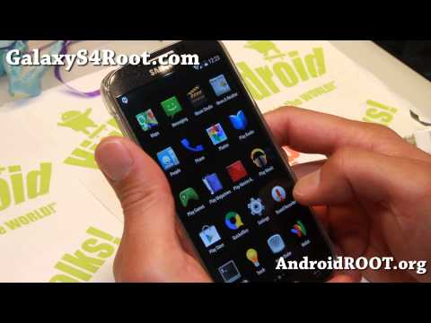 CM11 Android 4.4 KitKat ROM + Root For Galaxy S4!