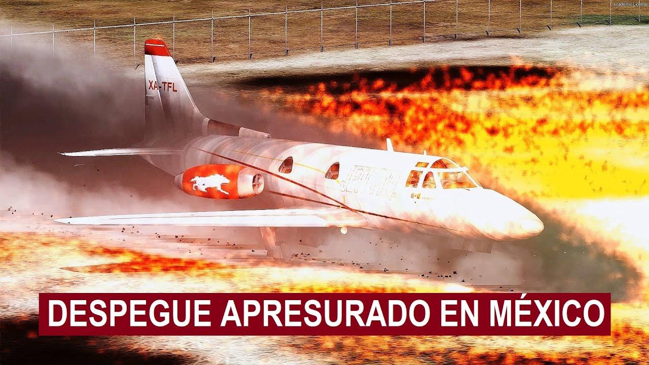 El Despegue que Conmocionó a México - Jett Paq 1100