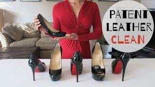 How Clean Care And Remove Scuff Patent Leather Shoes
