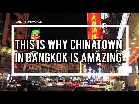 This is why Chinatown in Bangkok is amazing