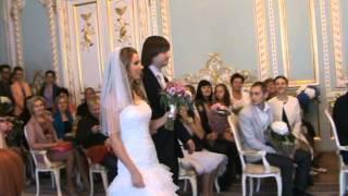 Свадьба  Дианы и  Евгения .Дворец бракосочетаний.