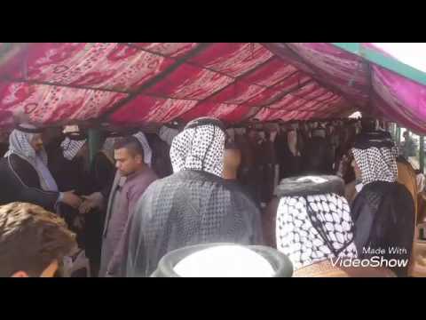 استقبال شيوخ مياح العراق في مضيف المخالبه مياح صلاح الدين في سامراء المقدسه