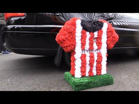 Funeral of Derry City's captain Ryan McBride