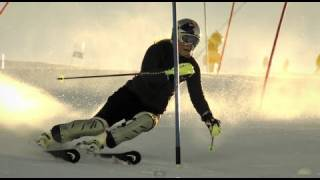 Lindsey Vonn Slow Motion Slalom - Red Bull Moments