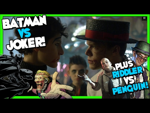 "Joker vs Batman! Gotham Season 3x14 ""The Gentle Art of Making Enemies"" REVIEW"