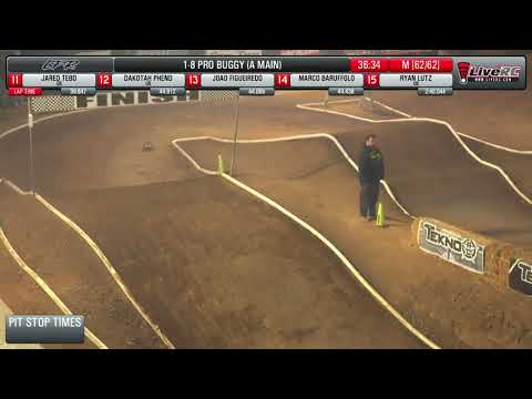 2018 The Dirt Nitro Challenge (DNC) - Pro Buggy A-Main Final (2/25/2018)