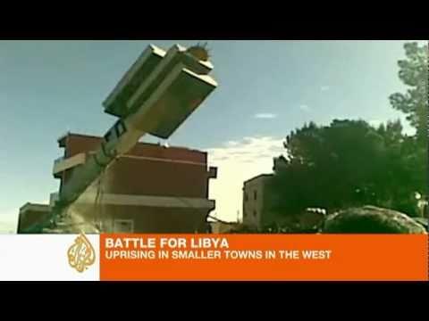 Radio Free Nalut 98.2FM ► Libya Nefusa West Revolution [Al Jazeera Eng]