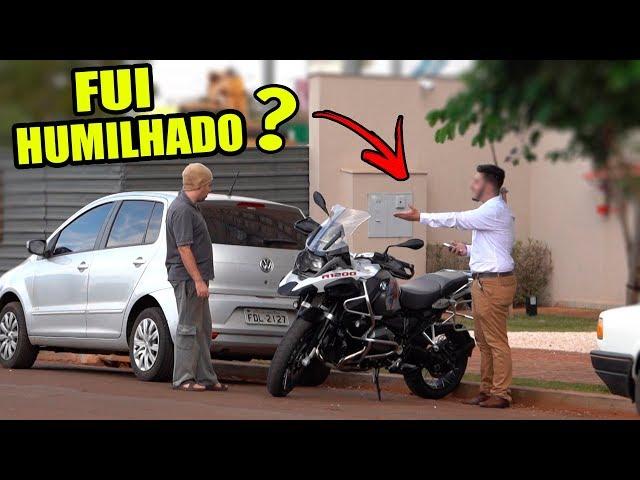 FUI COMPRAR A MOTO NOVA VESTIDO DE MENDIGO