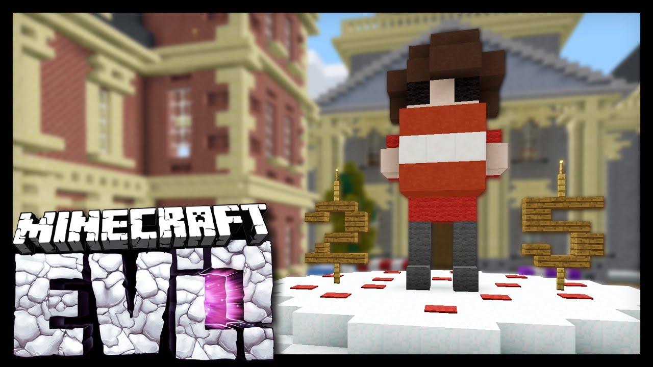 GRIANS BIRTHDAY PRANK Minecraft Evolution SMP YouTube - Minecraft namen andern anyart