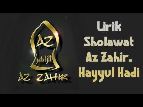 az-zahir---hayyul-hadi(lirik-arab-dan-latin)