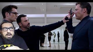 """Deleted Scene from """"Batman v Superman"""" Starring Jimmy Kimmel REACTION thumbnail"""