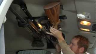 Center-lok: Overhead Gun Rack For Trucks