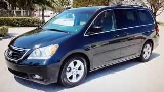 FOR SALE 2010 Honda Odyssey Touring Navigation & Rear DVD Entertainment