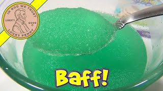 Squishy Baff Green 2-Pack, Umagine Products - Turn Water Into Goo and Back Again!