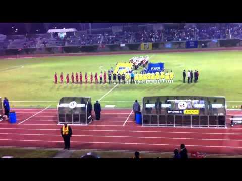 Bermuda National Anthem 11Oct11