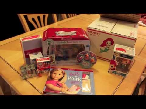 Holiday Gift Box Swap From ButerflyCandy For American Girl Dolls!!