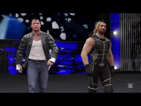 WWE 2K16 Aj Styles Vs Roman Reigns The...
