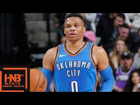 Oklahoma City Thunder vs Sacramento Kings Full Game Highlights / Feb 22 / 2017-18 NBA Season