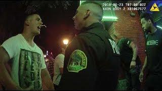 Police Breakup Fight Between Deputies and Club Bouncers