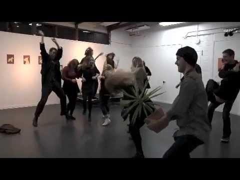 Harlem Shake Art Gallery style