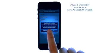Apple iPhone 5 – iOS 6 – How do I Enable Automatic iCloud Backup