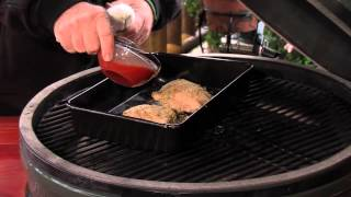 Wild Turkey Breast Parmesan - Cooked On The Big Green Egg