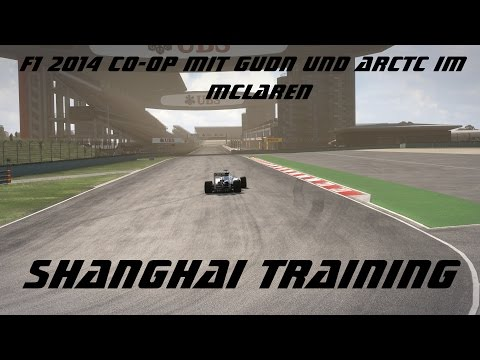 Formel 1 2014 - Co-OP - Shanghai/China - Training #10