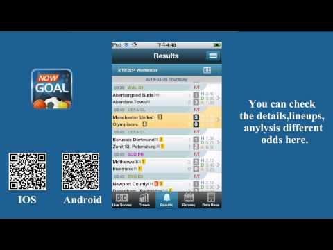Nowgoal Livescore App -- Live score & odds Comparison