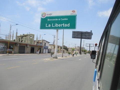 La Libertad / Salinas in Santa Elena Ecuador, to El Paseo Mall by Bus