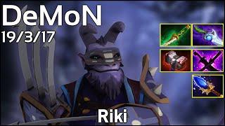 Support DeMoN Riki - Dota 2 7.13