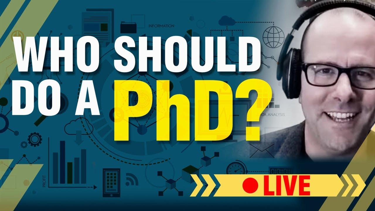Should you do a PhD?