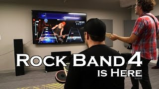 Video Game ROCK BAND 4 from Harmonix is here