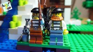 LEGO GANGSTERS VS GOLDFISH I DESIRE CRIMINAL I LEGO TALE