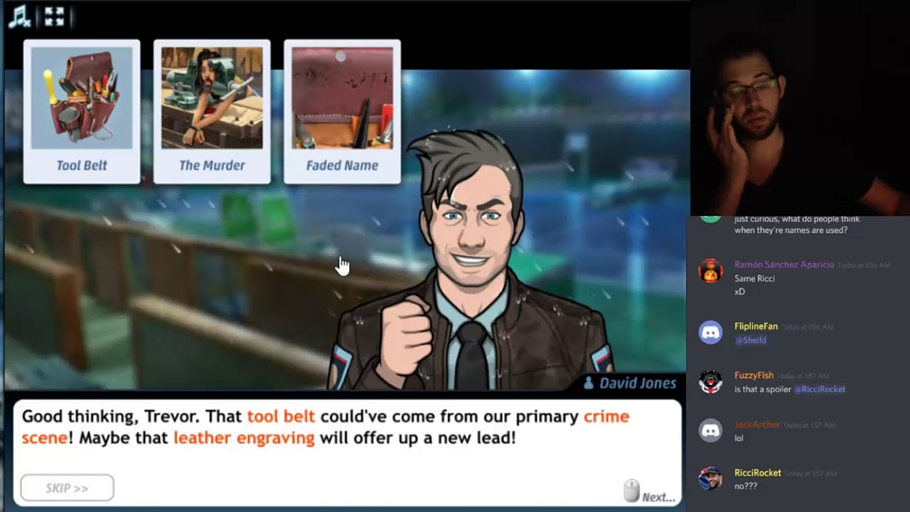 Criminal Case: The Conspiracy Case #40 - Game, Set, Murder Chapter 1