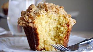 Jumbo Lemon Coffee Cake Muffins