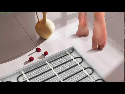 видео: Теплый пол. Электрический или Водяной теплый пол