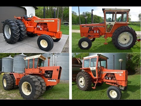 4 Allis Chalmers Tractors For Sale on Hastings, MN Farm Auction Saturday