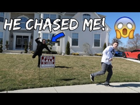 I PUT LANCE STEWART'S HOUSE UP FOR SALE! (PRANK)