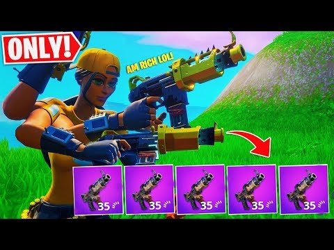 Only Using TAC SMG In Fortnite! Battle Royale Season X ( Fortnite TACTICAL SMG is Back )