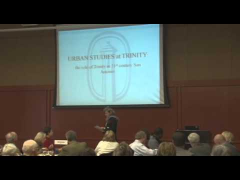 Trinity University Food For Thought - Christne Drennon, Ph.D.