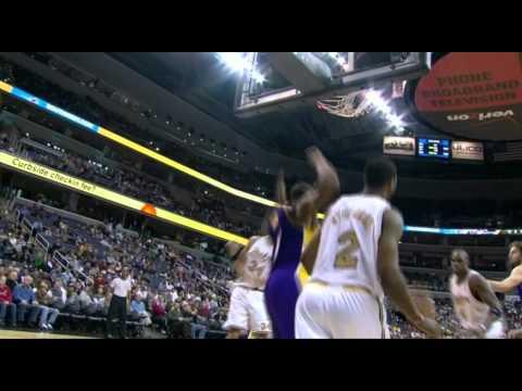 12 05 2008   Lakers vs  Wizards   Kobe Alleyoop To Bynum
