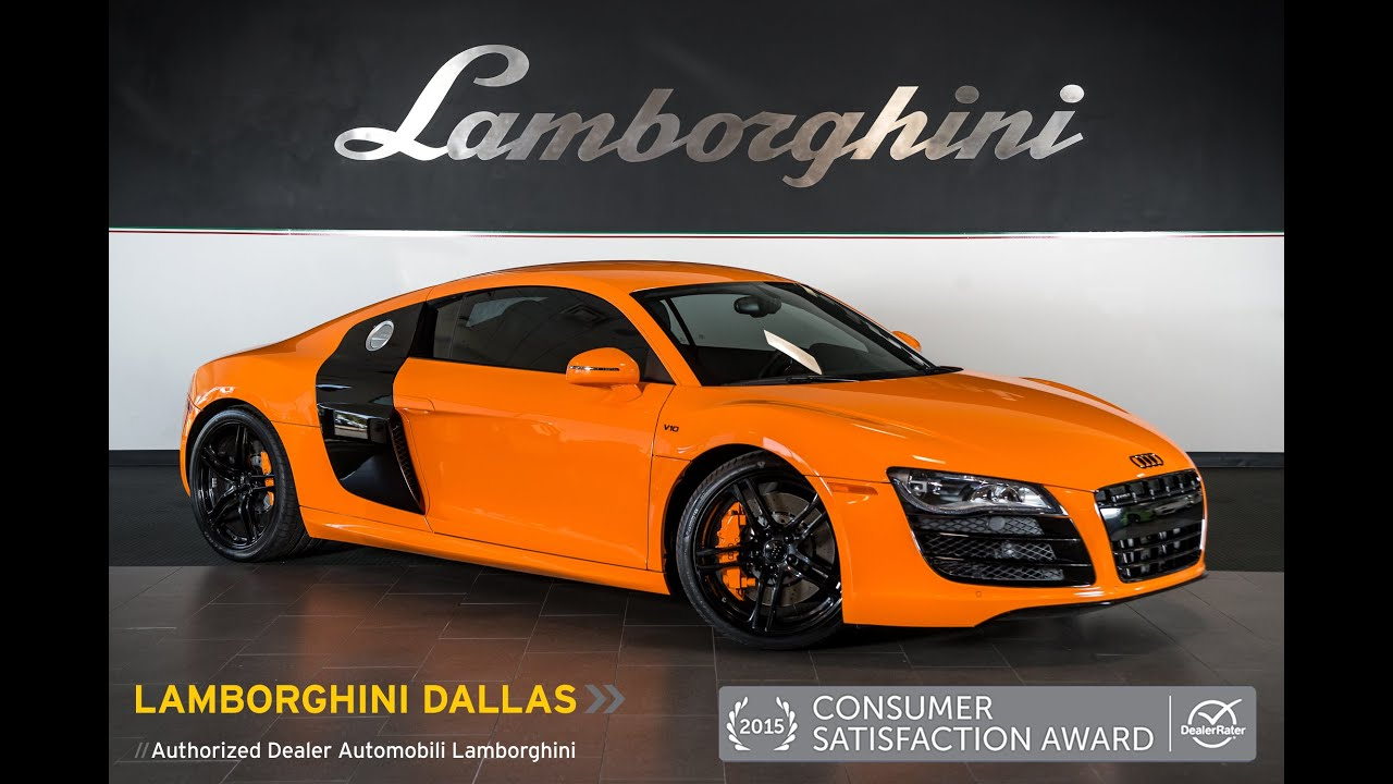 2012 Audi R8 V10 Orange Audi Exclusive Lt0842 Youtube