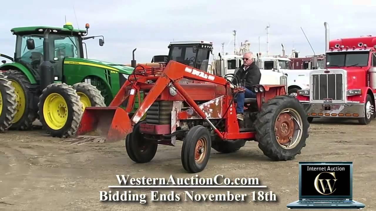 Massey Ferguson 150 : Massey ferguson farm tractor youtube