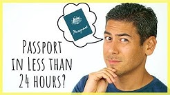 How to Get an Expedited Passport | My Story + Tips For Getting a Passport in Less Than 24 Hours