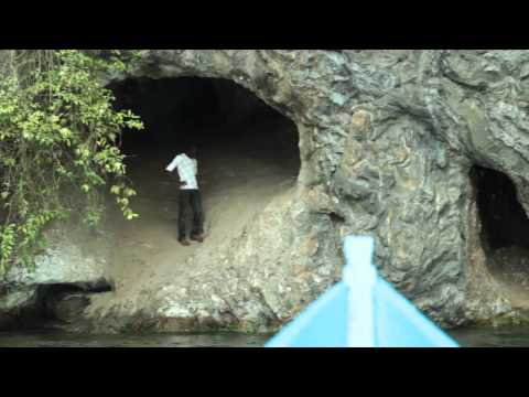 Nile Star finds hidden caves on the Bujagali Lake, Uganda