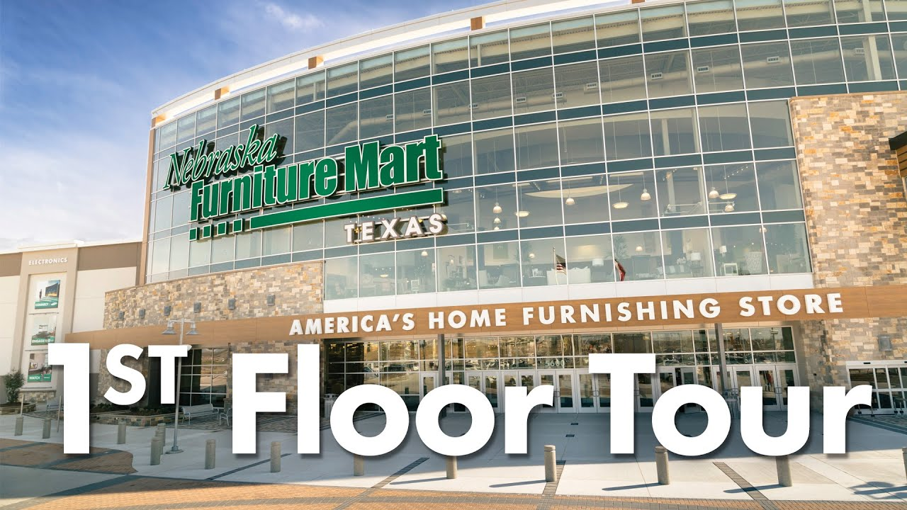1st Floor Tour Of Nebraska Furniture Mart In Texas