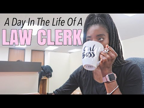 A DAY IN THE LIFE OF A LAW CLERK + NEW CAR!!!!!