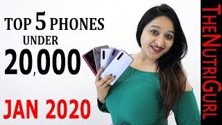 Top 5 Phones Under 20000 IN JANUARY 2020